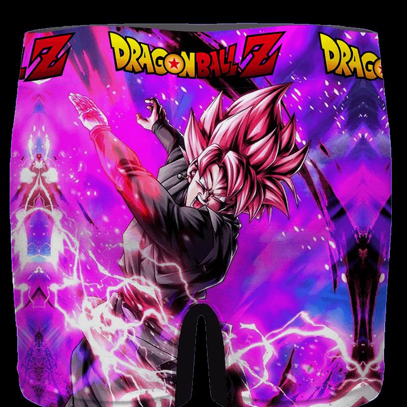 Dragon Ball Goku Black Saiyan Rose Awesome Men's Underwear - back