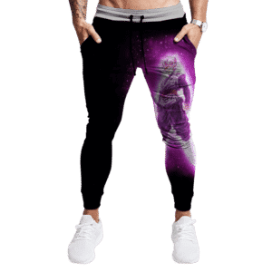 Dragon Ball Goku Black Super Saiyan Rose Dark Tracksuit Bottoms