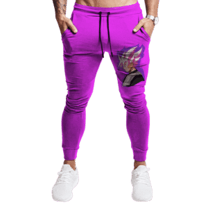 Dragon Ball Goku Black Super Saiyan Rose Vector Jogger Pants