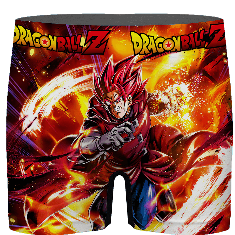 Dragon Ball Legends Giblet The Saiyan In Red Men's Boxer