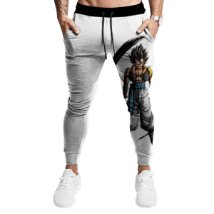 Dragon Ball Legends Gogeta Base Form Dope White Joggers