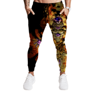Dragon Ball Super Golden Frieza Cool Fiery Aura Dope Jogger Pants