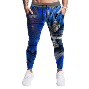Dragon Ball Super Vegeta SSGSS Charging Up Fantastic Jogger Pants