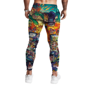 Dragon Ball Z Budokai Fighters Video Game Sweatpants Jogger