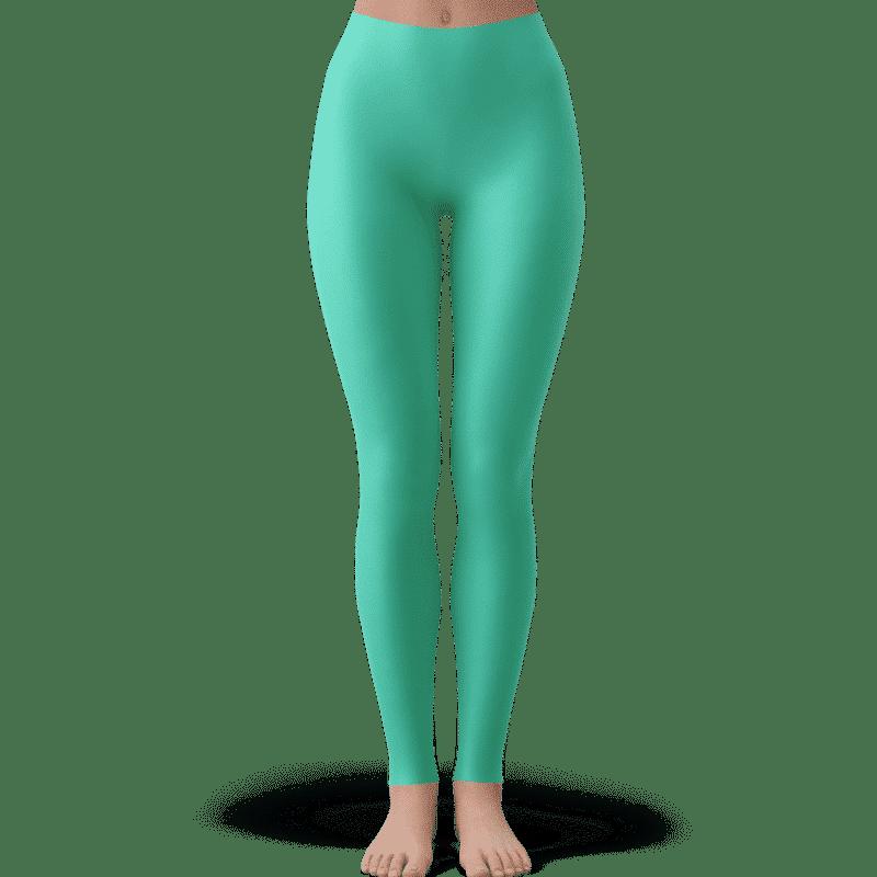 Dragon Ball Z Chibi Android 21 Cute Pastel Green Yoga Pants