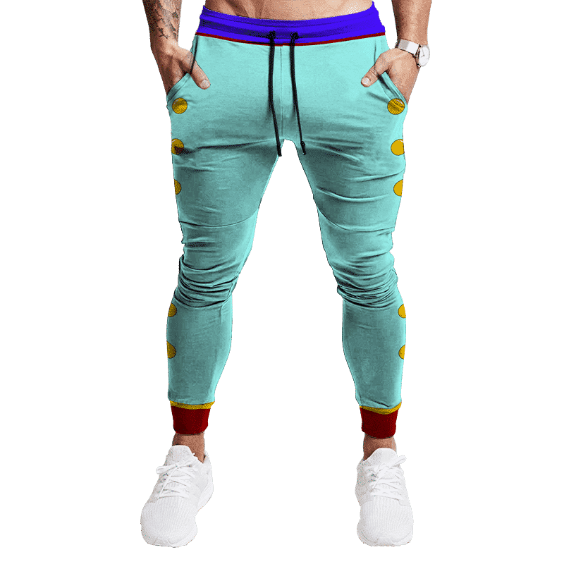 DBZ East Supreme Kai Shin Bottoms Cosplay Track Pants