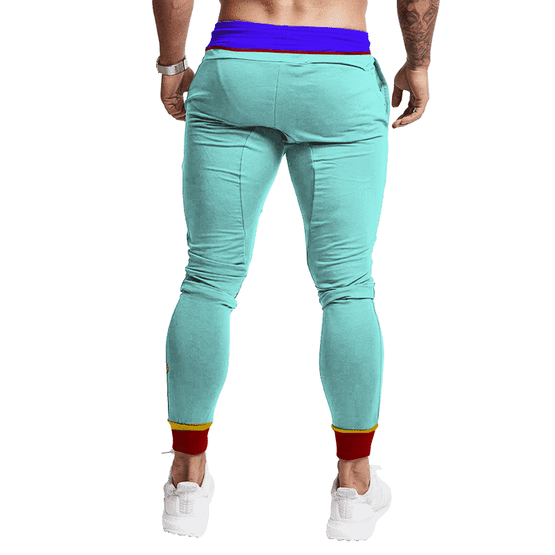 Dragon Ball Z East Supreme Kai Shin Bottom Cosplay Track Pants Back