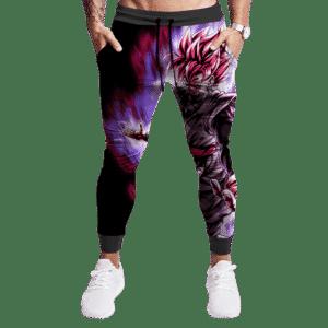 Dragon Ball Z Goku Black Super Saiyan Rose Black Jogger Pants