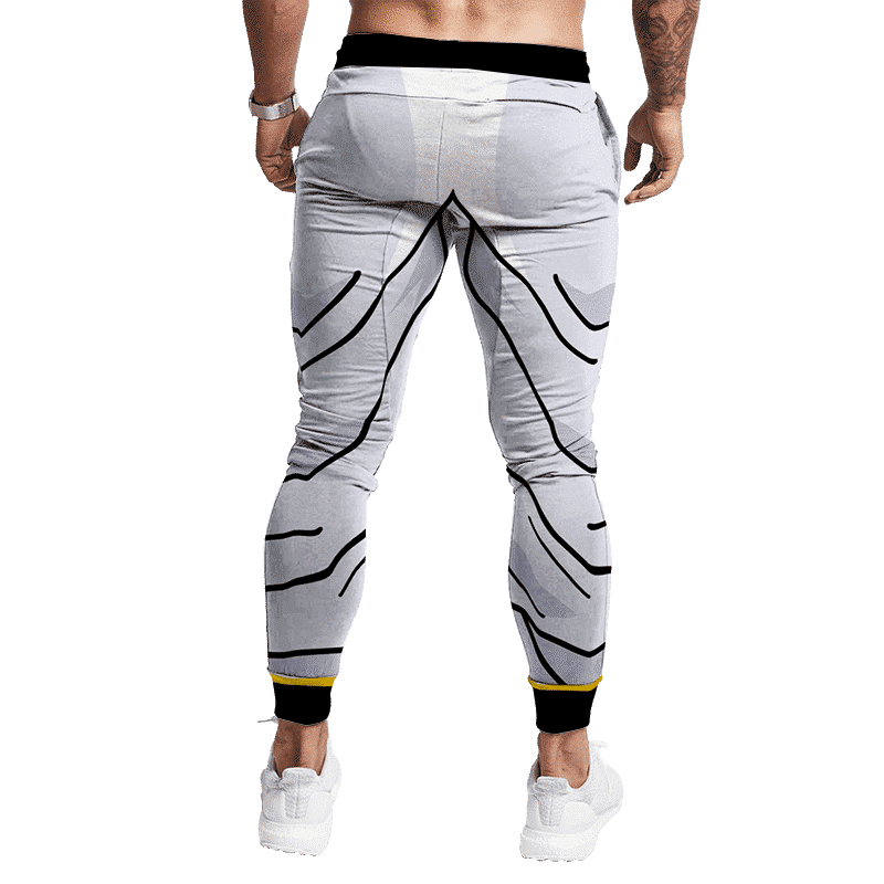 Dragon Ball Z Majin Buu Classic Bottom Cosplay Jogger Pants Back