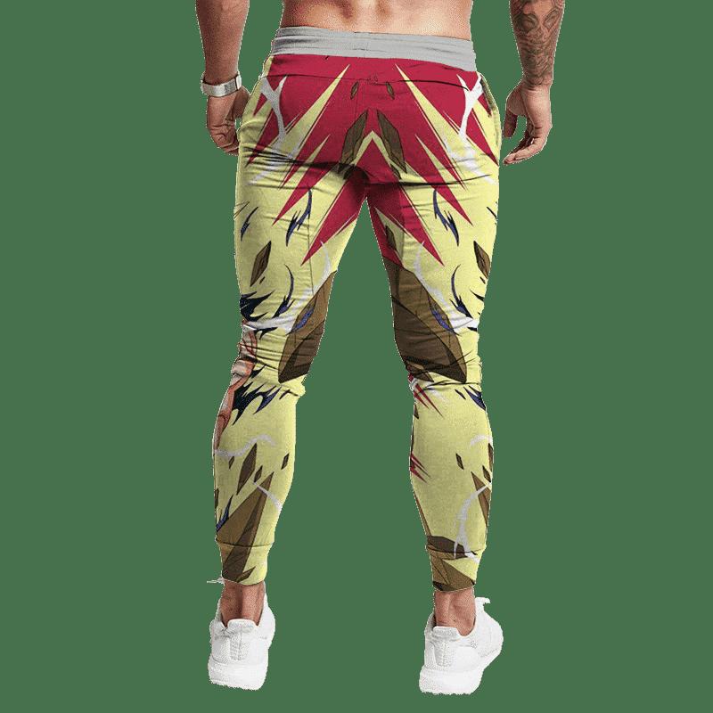 Dragon Ball Z Majin Vegeta SS2 Anime Style Epic Sweatpants