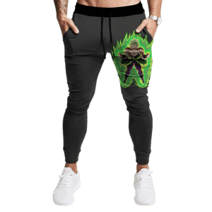 Dragon Ball Z Super Saiyan Broly Dark Legendary Jogger Pants