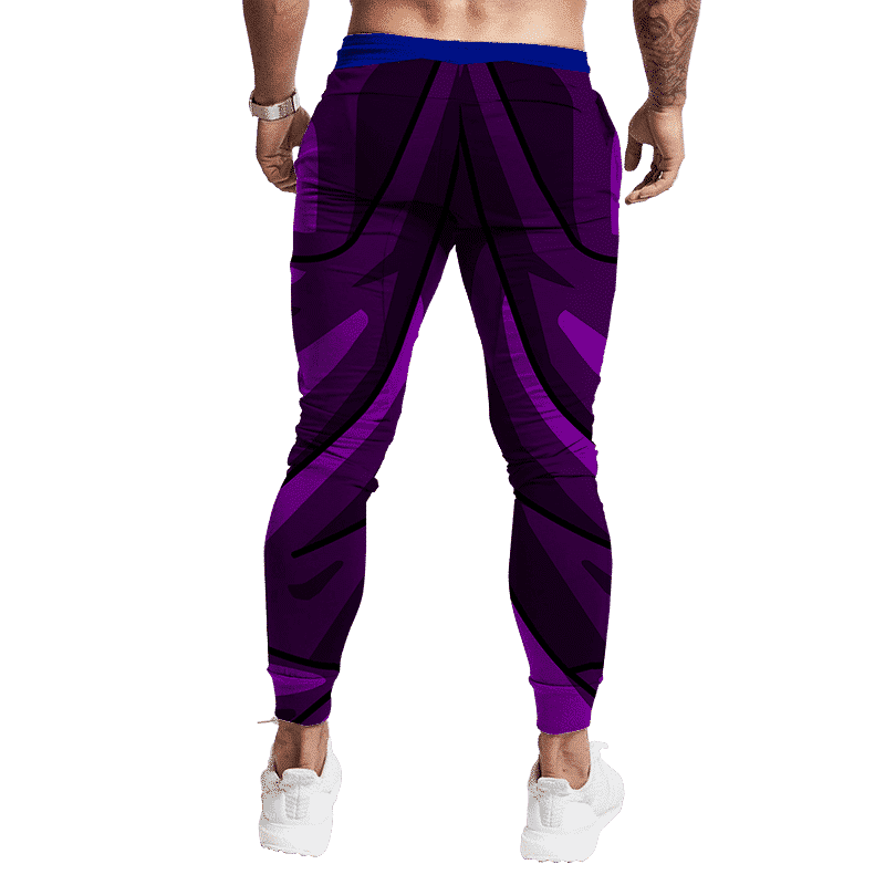Dragon Ball Z Teen Gohan Piccolo Blue Sash Cosplay Jogger Pants Back
