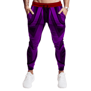 Dragon Ball Z Teen Gohan Piccolo Red Sash Cosplay Jogger Pants