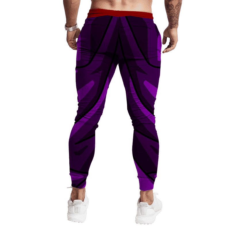 Dragon Ball Z Teen Gohan Piccolo Red Sash Cosplay Jogger Pants Back