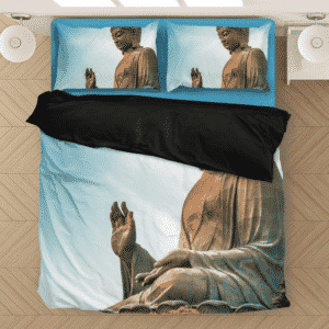 Great Giant Buddha of Tian Tan Enlightenment Bedding Set