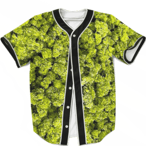 Marijuana Kush Nugs All Over Print Awesome Baseball Jersey