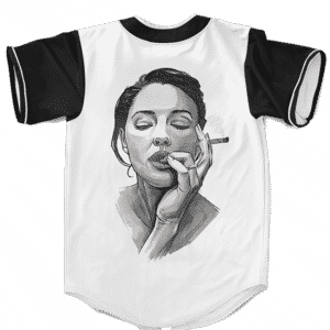 Sexiest Way To Roll A Cannabis Marijuana Blunt Baseball Jersey