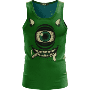 Stoner Mike Monsters Inc Dope Green Awesome Tank Top