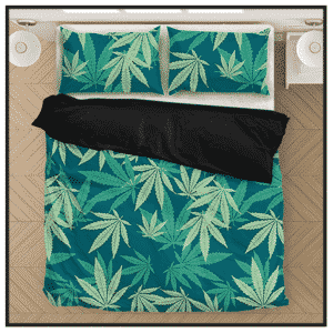 420 & Marijuana Bedding Sets