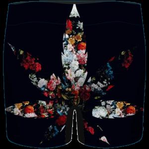 420 Marijuana Floral Painting Pattern Dope Weed Men's Underwear