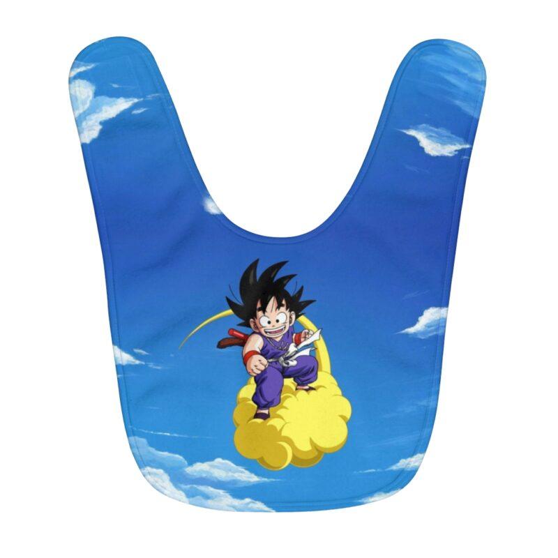 Dragon Ball Z Kid Goku Flying Nimbus Awesome Baby Apron