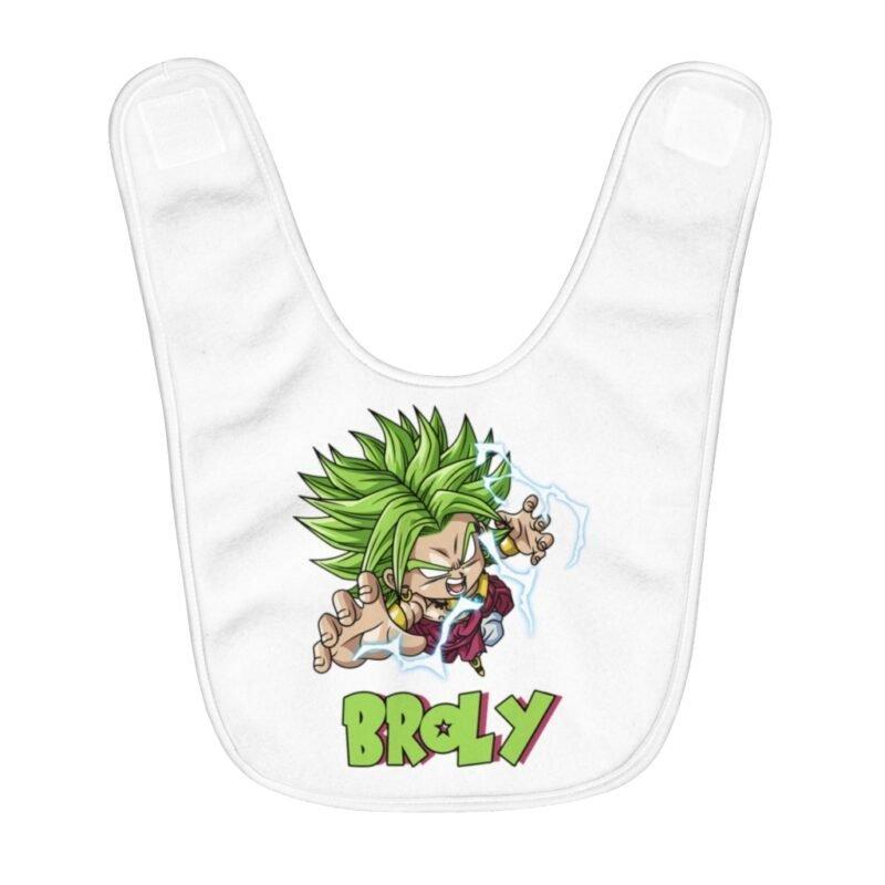 Dragon Ball Super Enraged Chibi Broly Badass Baby Apron