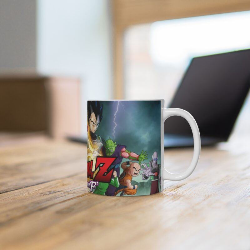 Dragon Ball Z Resurrection F Goku Frieza Vegeta Coffee Mug