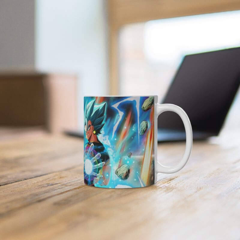 DBZ Super Saiyan Blue Gogeta Vegito Cool Ceramic Coffee Mug