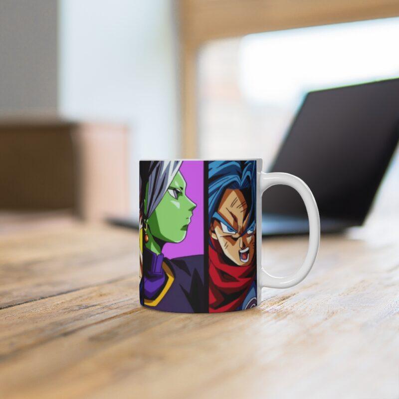 Dragon Ball Z Chi-Chi Goku Zamasu Trunks Portrait Coffee Mug