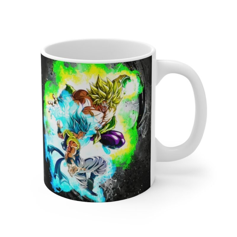 Dragon Ball Gogeta Vegito Broly Fight Fiesta Dope Coffee Mug