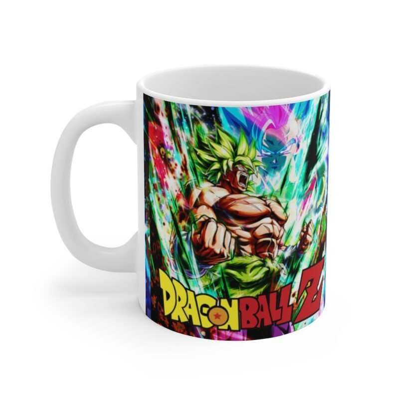 Dragon Ball Z Super Saiyan Broly Full Power Art Coffee Mug