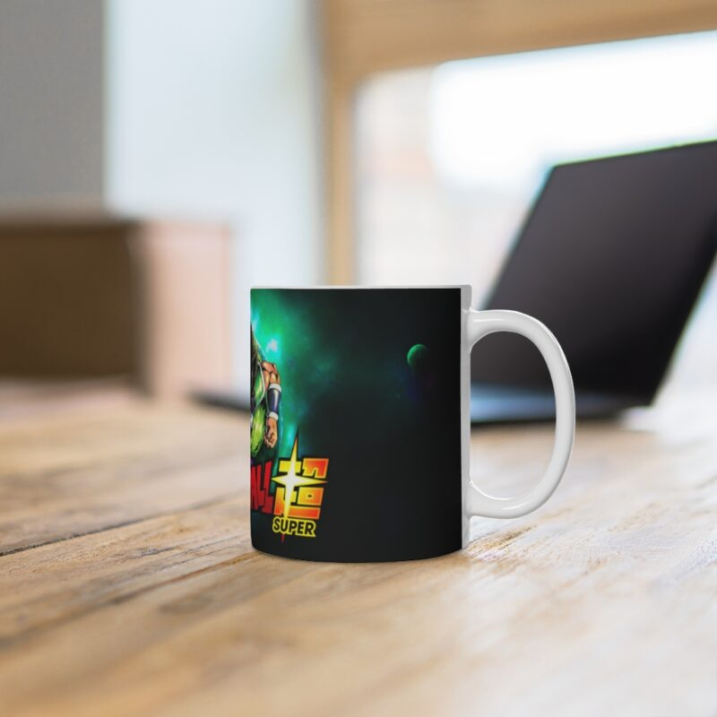 Dragon Ball Super Legendary Saiyan Broly Galaxy Coffee Mug