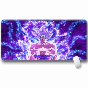 DBS Powerful Goku Ultra Instinct Non-Slip Large Mouse Pad