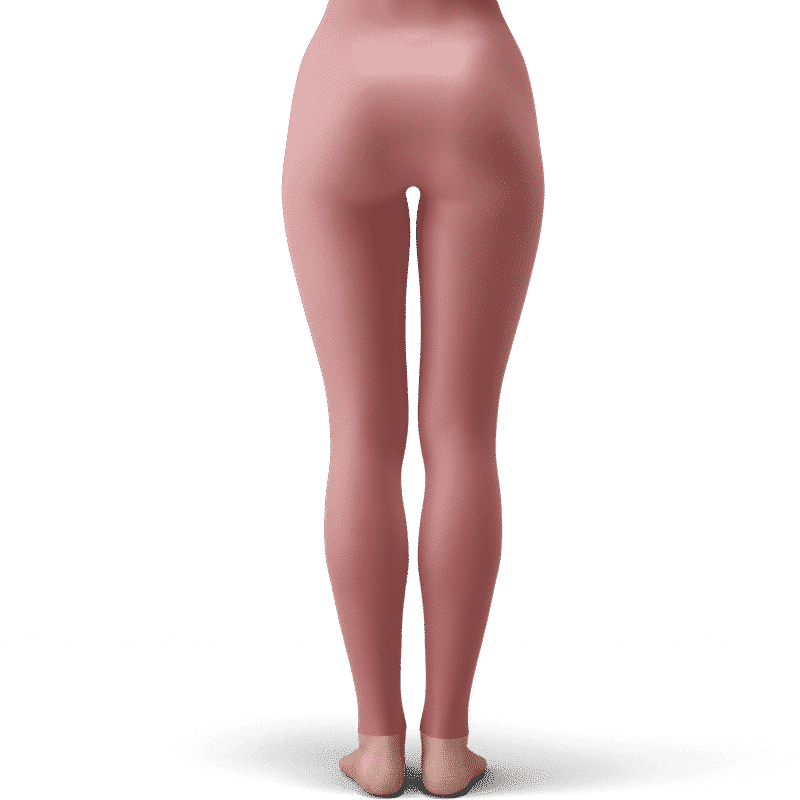 DBZ Chibi Android 18 Floral Background Gorgeous Yoga Pants