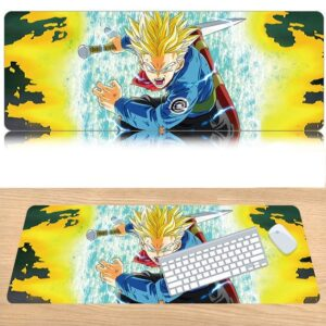 DBZ Epic Super Saiyan Rage Future Trunks Desk Mouse Pad