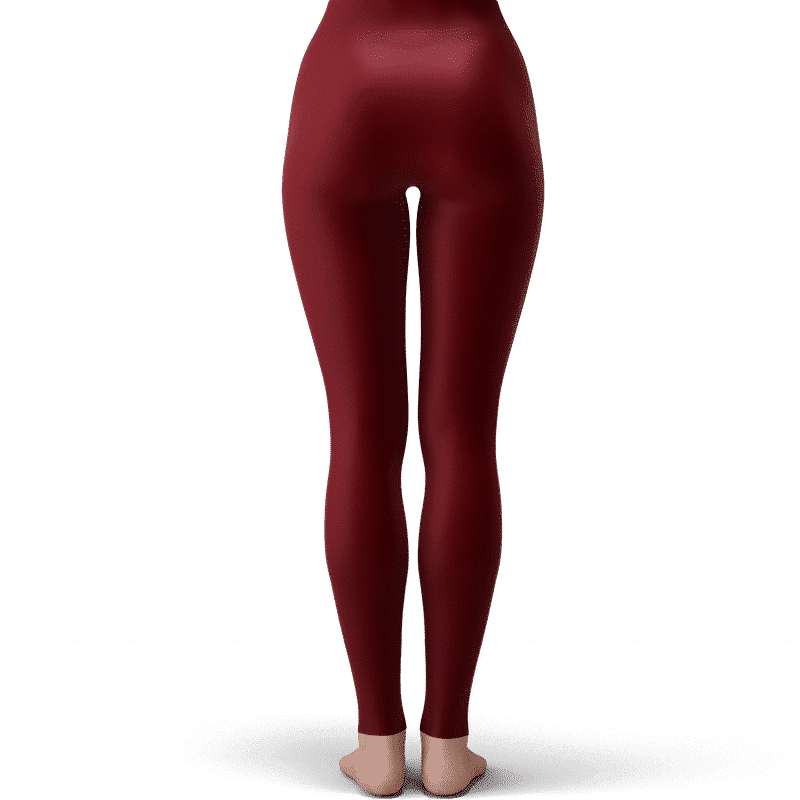 DBZ Goku Black Super Saiyan Rose Sexy Red Velvet Leggings