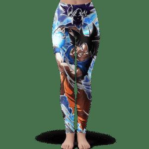 DBZ Son Goku Kamehameha Ultra Instinct Dope Yoga Pants