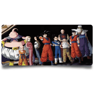 DBZ Team Universe 7 Tournament of Power Non-Slip Mouse Pad