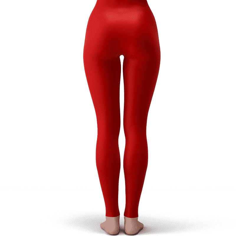 DBZ Young Chi-Chi Galaxy Flower Cute Fiery Red Yoga Pants