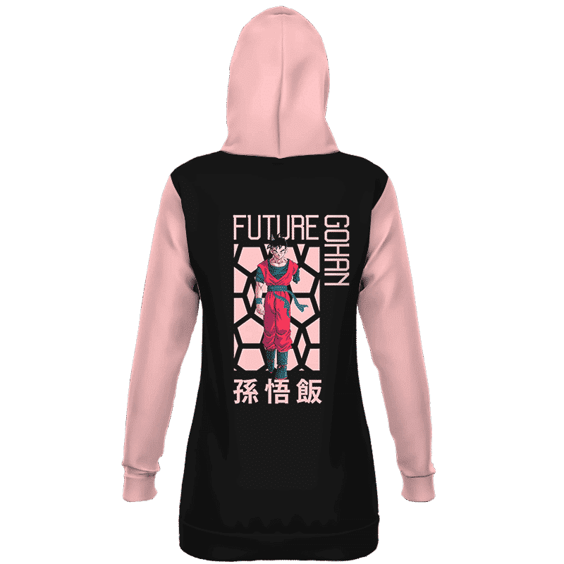 Dragon Ball Android Saga Future Gohan Retro Art Hoodie Dress