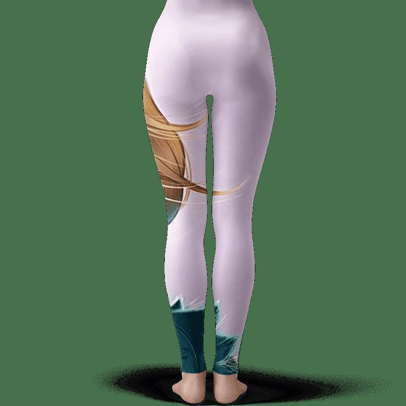 Dragon Ball Beautiful Android 18 Sexy Art Leggings