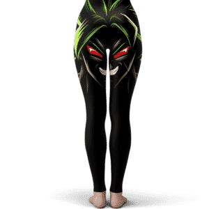 Dragon Ball Enraged Broly Cool Dope Black Yoga Pants