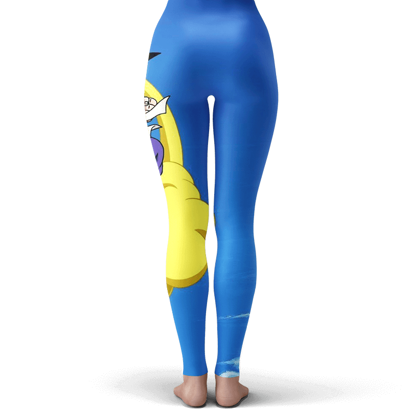 Dragon Ball GT Kid Goku Flying Nimbus All Over Leggings