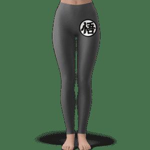 Dragon Ball Goku's Kanji Symbol Gray Cool Leggings