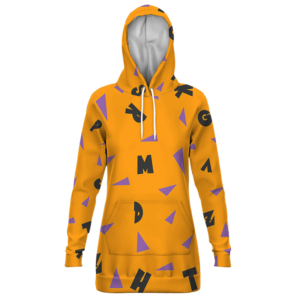 Dragon Ball Master Roshi Cosplay Pattern Pullover Hoodie Dress
