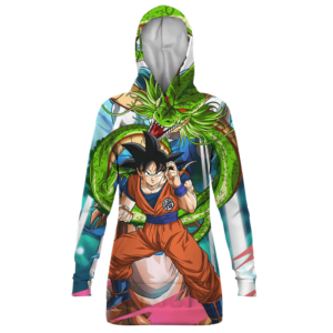 Dragon Ball Son Goku And Shenron Awesome Hoodie Dress