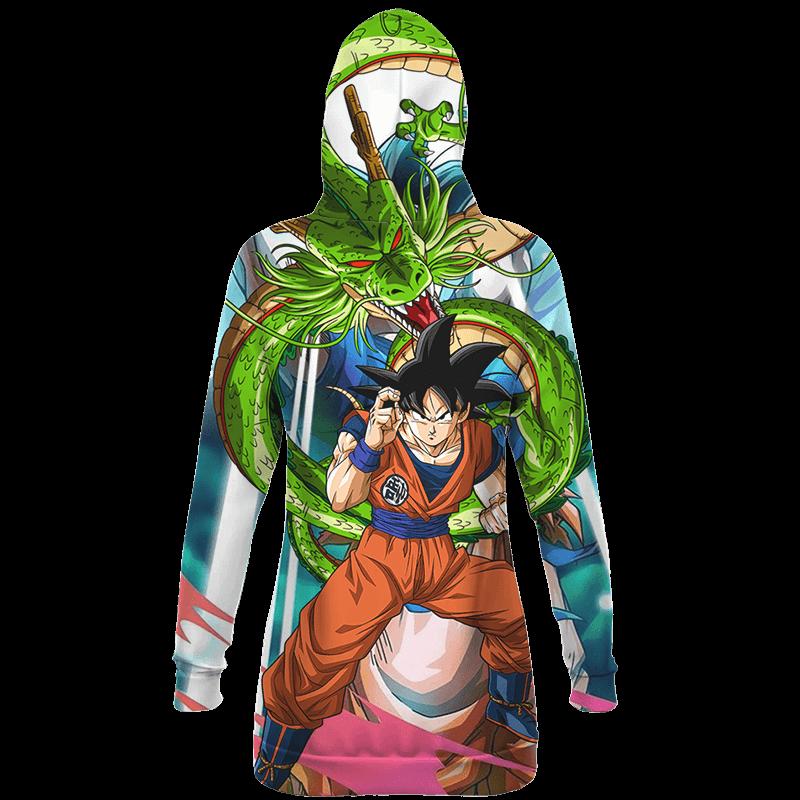 Dragon Ball Son Goku And Shenron Awesome Hoodie Dress