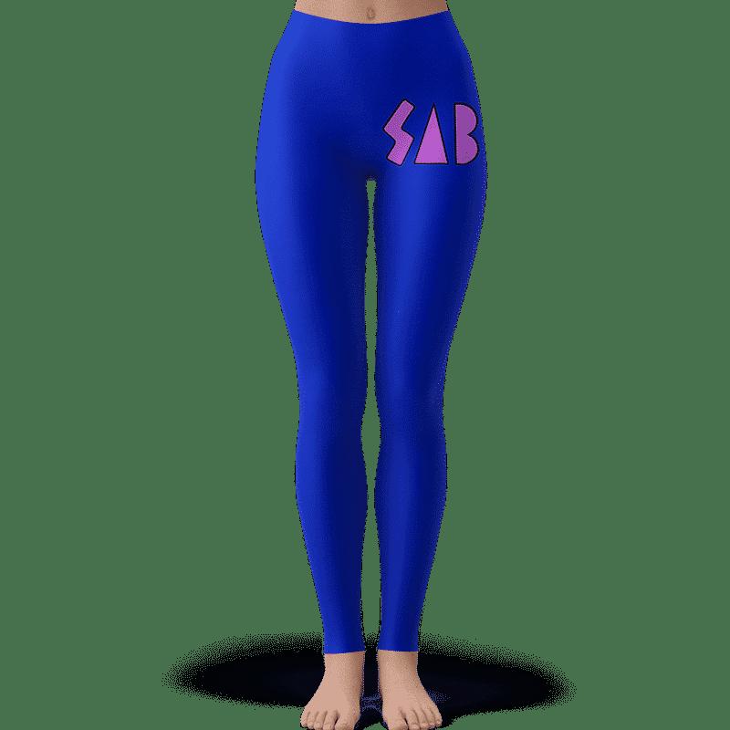 Dragon Ball Super Broly Movie SAB Cosplay Blue Leggings