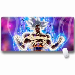 Dragon Ball Super Son Goku Mastered Ultra Instinct Mouse Pad