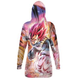 Dragon Ball Super Vegeta SSG Dope All Over Hoodie Dress